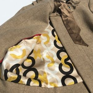 J. Crew Jackets & Coats - [J Crew] Brown Cheshire Wool Coat Jacket Size 8P